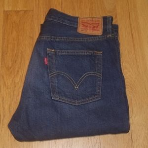 Levi's 501 ct button fly blue jeans